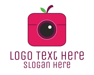 Picture - Berry Instagram Camera logo design