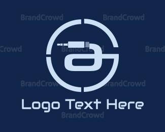 Stereo - Connection Circle logo design