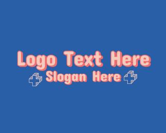 Word - Cute Gaming Wordmark logo design
