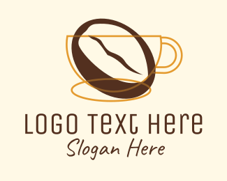 Brewed Coffee - Coffee Brewery logo design