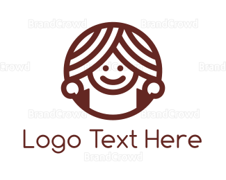 Boy - Donut Girl logo design