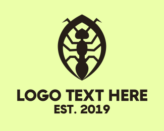 Antenna - Black Ant logo design