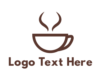 Brown Cup Coffee Logo