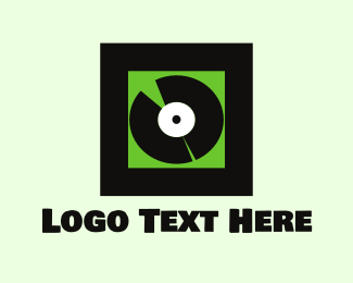 Shopify - Vinyl Record logo design