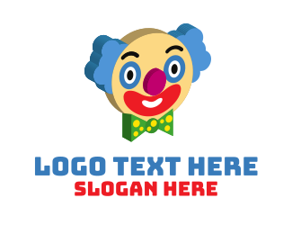 """3D Clown Face "" by eyed"