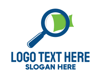 Investigate - Document Search logo design