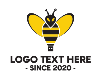 Bee Flash Drive Logo