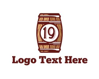 Brewery - Nineteen Barrel  logo design