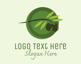 Marketplace - Olive Branch Fruit logo design