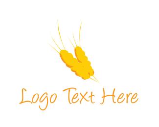 Bakeshop - Golden Wheat logo design