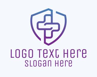 Emblem - Medical Cross Emblem logo design