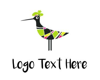 Little - Fashion Black Bird logo design