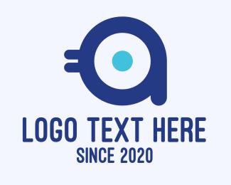Chick - Bird Mascot Letter A logo design