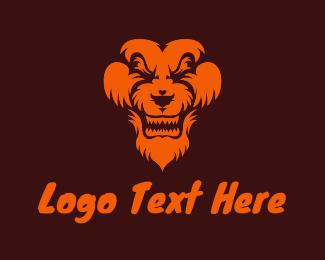 Jungle - Jungle Lion Animal logo design