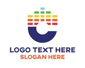 Producer - Musical Sound logo design