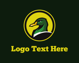 Soccer - Green Duck logo design