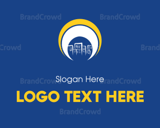 Downtown - Bright City logo design