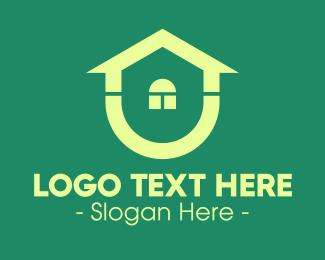 Builder - Green Housing Property logo design
