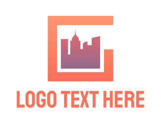 Buildings - Modern City G logo design