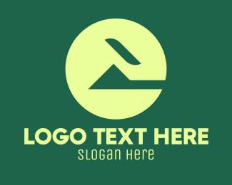 Home Builder - Green Abstract Home logo design