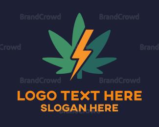 Electric - Electric Cannabis logo design