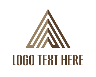 Symbol - Brown Pyramid logo design