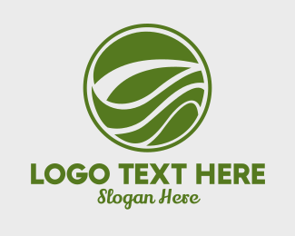Biodegradable - Circular Organic Growth logo design