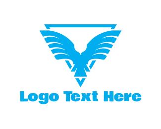 Blue Bird Emblem Logo