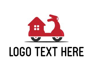 Food Delivery - Home Delivery logo design