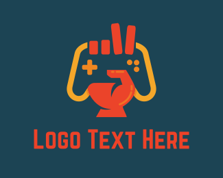Furnitureinterior Victory Gamer logo design