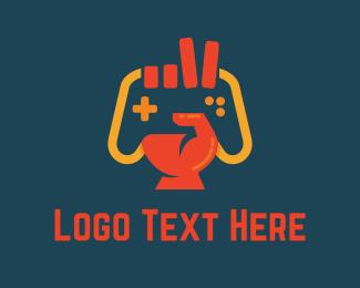 gaming logo maker brandcrowd