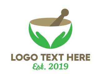 Green Bowl - Healthy Ingredient logo design