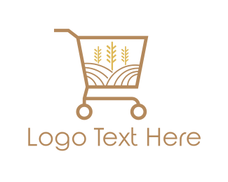 Trolley - Grain Market logo design