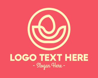 Yoga - Yoga Flower Spa logo design