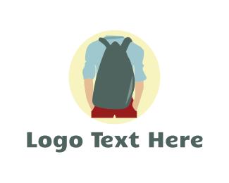 Backpack - Travel Bag logo design