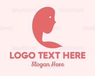 Silhouette - Woman Silhouette logo design