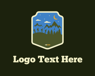 New Zealand - Hike Team logo design