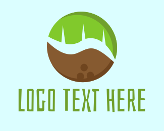 Coco - Tropical Coconut logo design