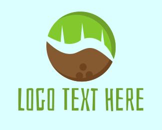Coconut - Tropical Coconut logo design