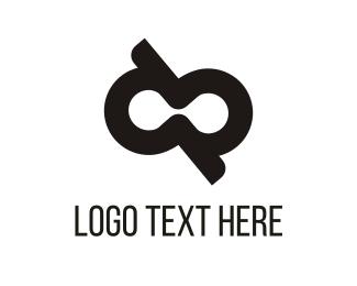 Black Infinity Logo