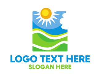 Day - Sun Hill Valley logo design
