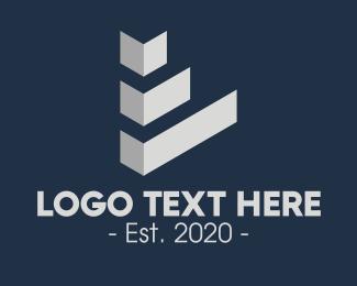 Architecture - Grey Architectural Firm logo design