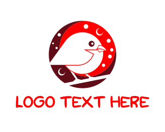 Little - Red Sparrow logo design