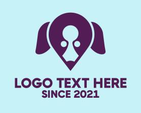 Locator - Dog Locator logo design