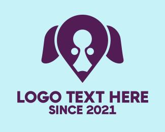 Location - Dog Locator logo design