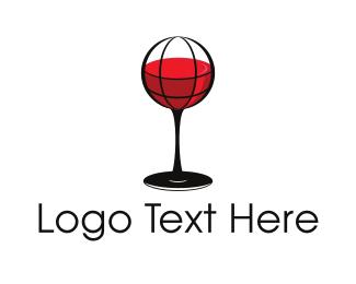 Event Planning - Wine Atlas logo design