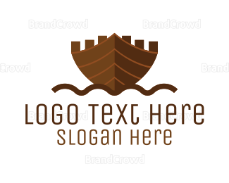 Build - Ship Castle logo design