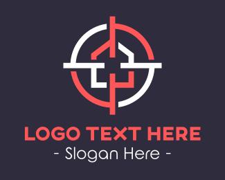 Target - Target House logo design