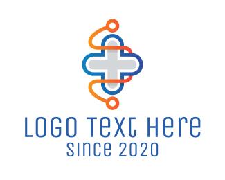 Nursing - Health Medical Cross logo design