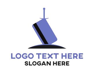 Loan - Credit Sword logo design